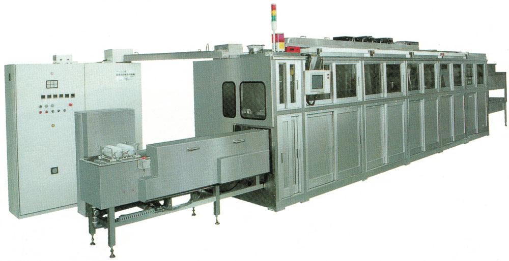 レンズ・ガラス・ハードディスク用自動超音波洗浄装置 SD-1M02920