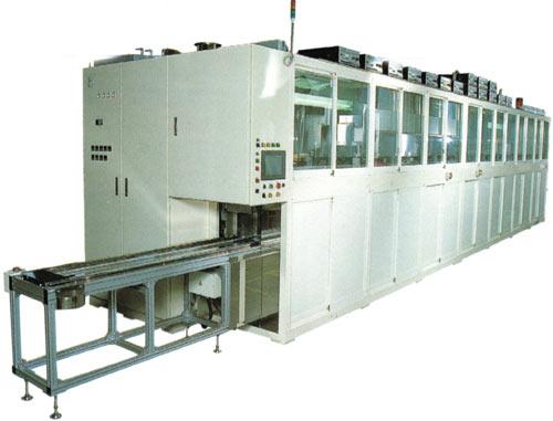 ガラス基板用自動超音波洗浄装置 SD-2M11912